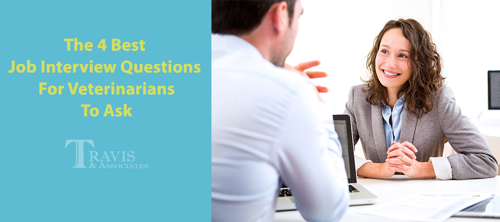 The 4 Best Job Interview Questions For Veterinarians To Ask - Travis ...
